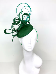 Emerald Green Fascinator