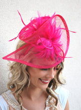 Load image into Gallery viewer, Pink Fascinator