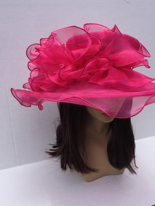 Pink Kentucky Derby Hat