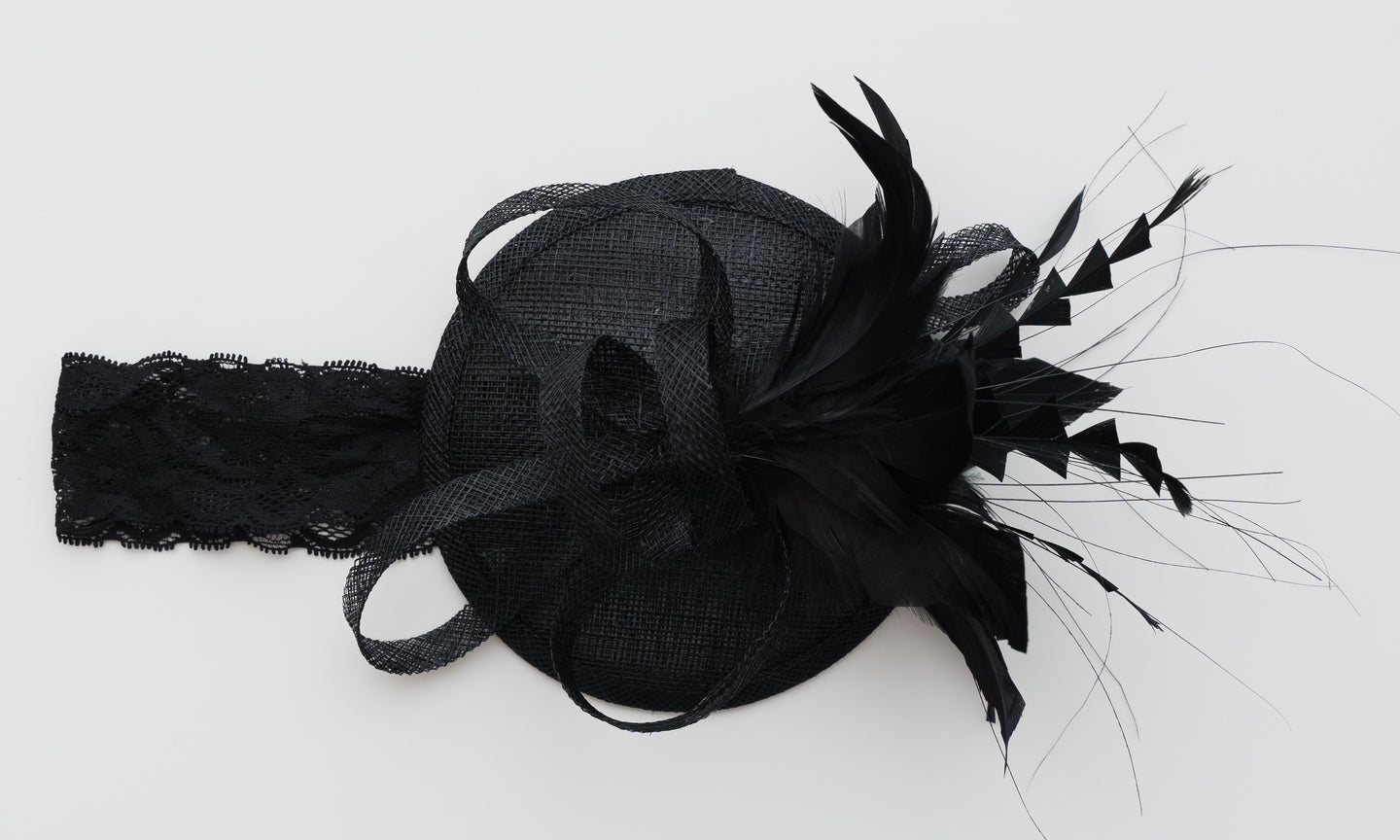 Mini Haleigh BABY / INFANT FASCINATOR