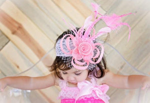 THE ELLIE ROSE TODDLER FASCINATOR