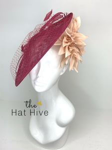 Wine & Blush Bloom Hatinator