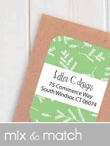 mix & match address labels