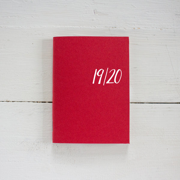 2019 / 2020 mini monthly academic planner