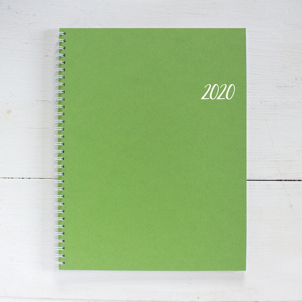 2020 large monthly spiral planner