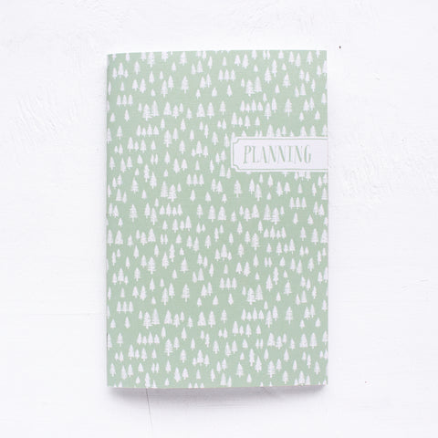 forest personalized notebook