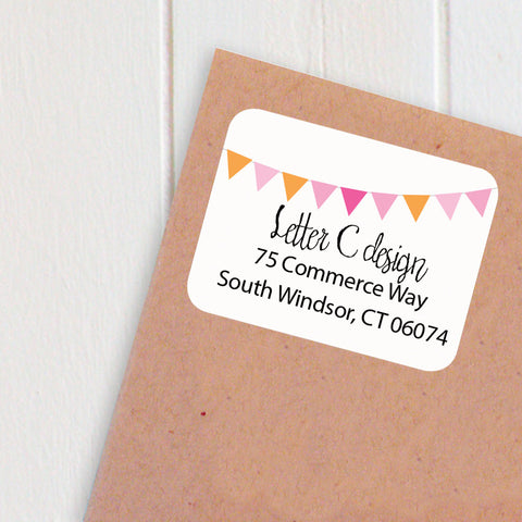 address labels banner