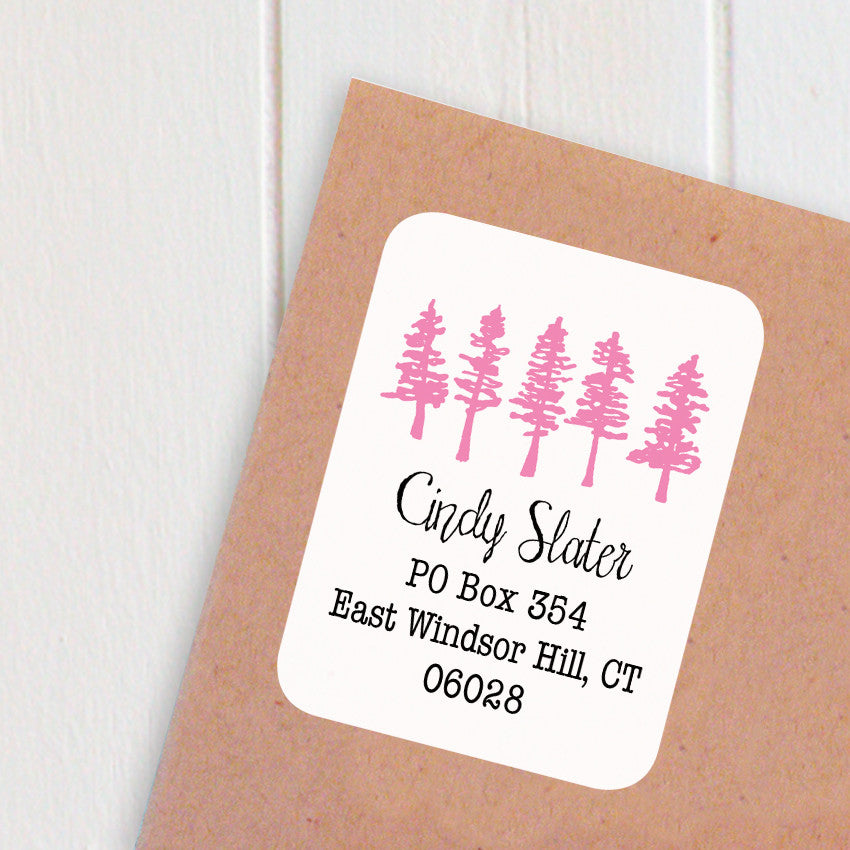 address labels forest