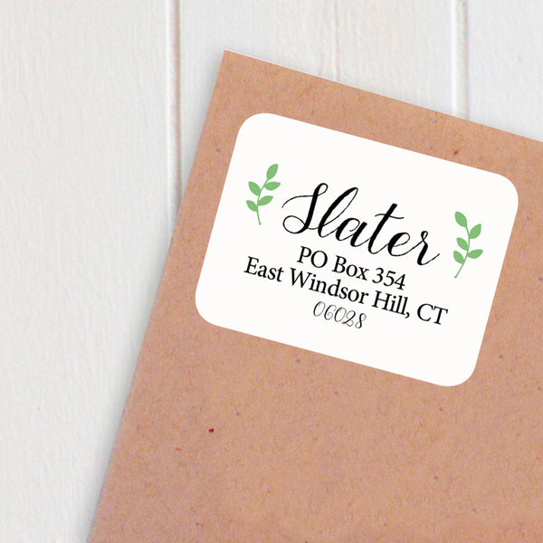 address labels leaf frame