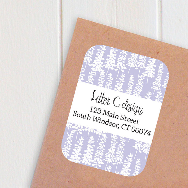 lupine address labels