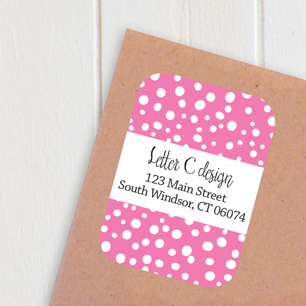 stormy dots address labels