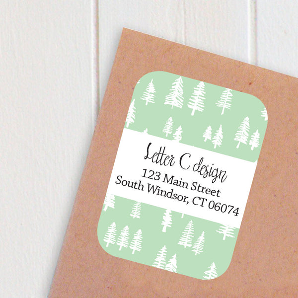 little trees address labels