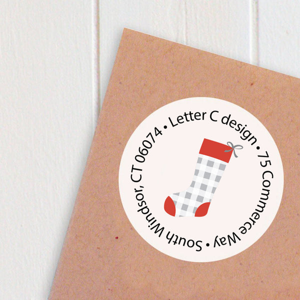 address labels stockings