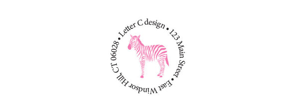 address labels zebra
