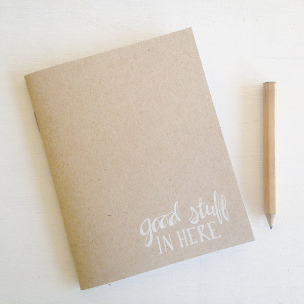 good stuff in here kraft pocket journals