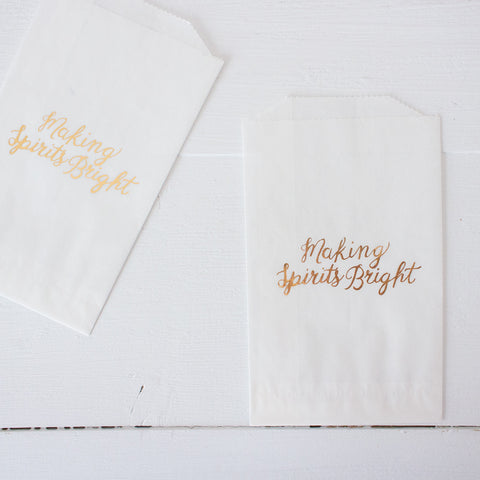 glassine treat bags - making spirits bright