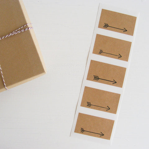 arrow kraft labels