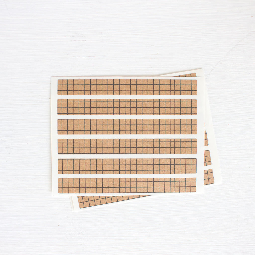 kraft sticker strips - graph