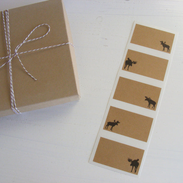 moose kraft labels
