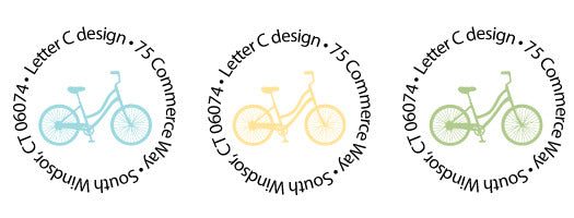 address labels bikes