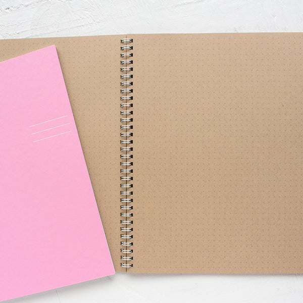 large kraft project notebook