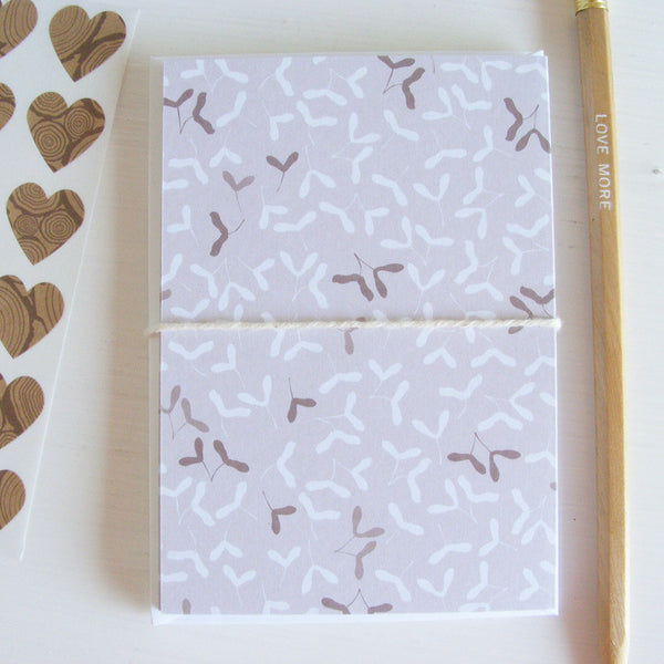 in the woods boxed note card set