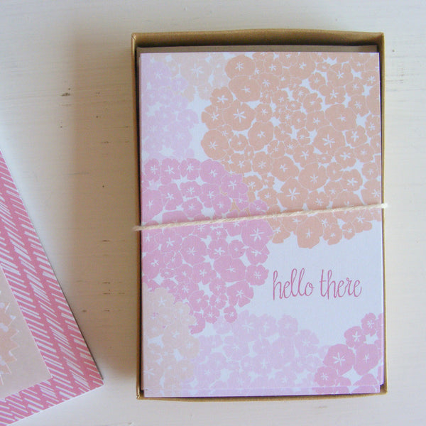 blooms hello there cards