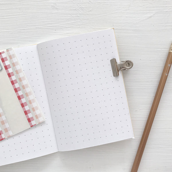 mini monthly planner - start any month