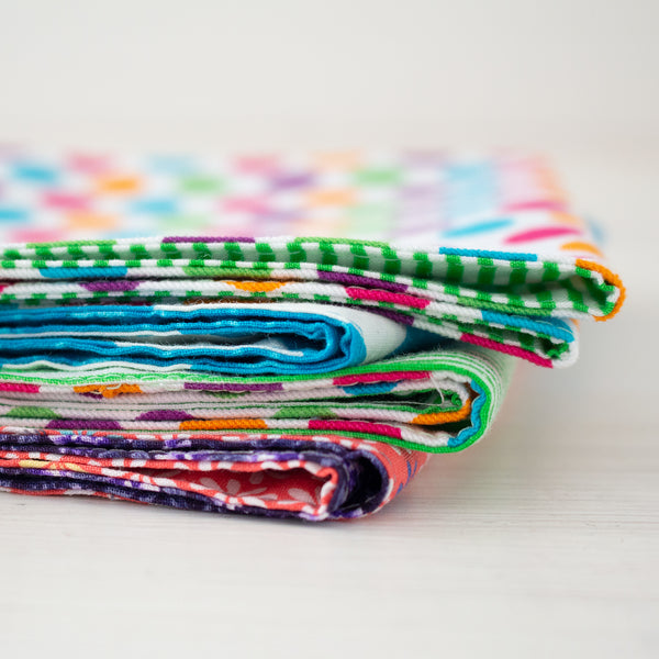 cloth napkins - brights