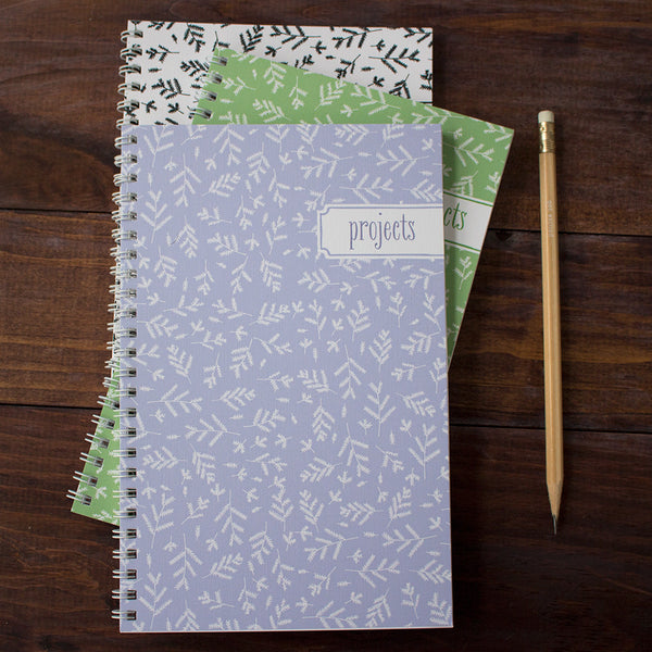 forest floor personalized travel notebook set