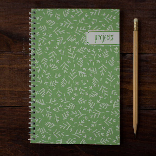 forest floor personalized travel notebook