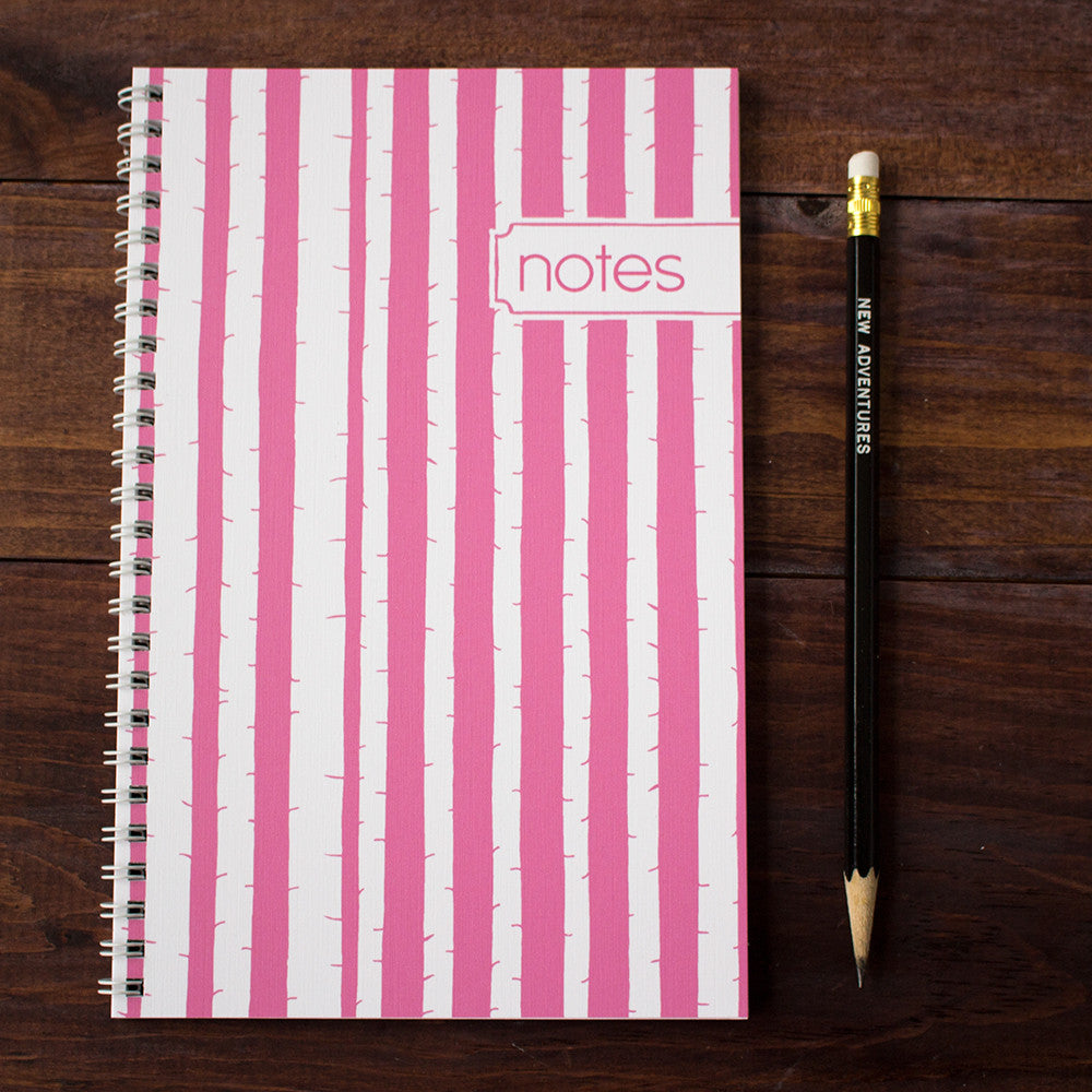 in the woods personalized travel notebook