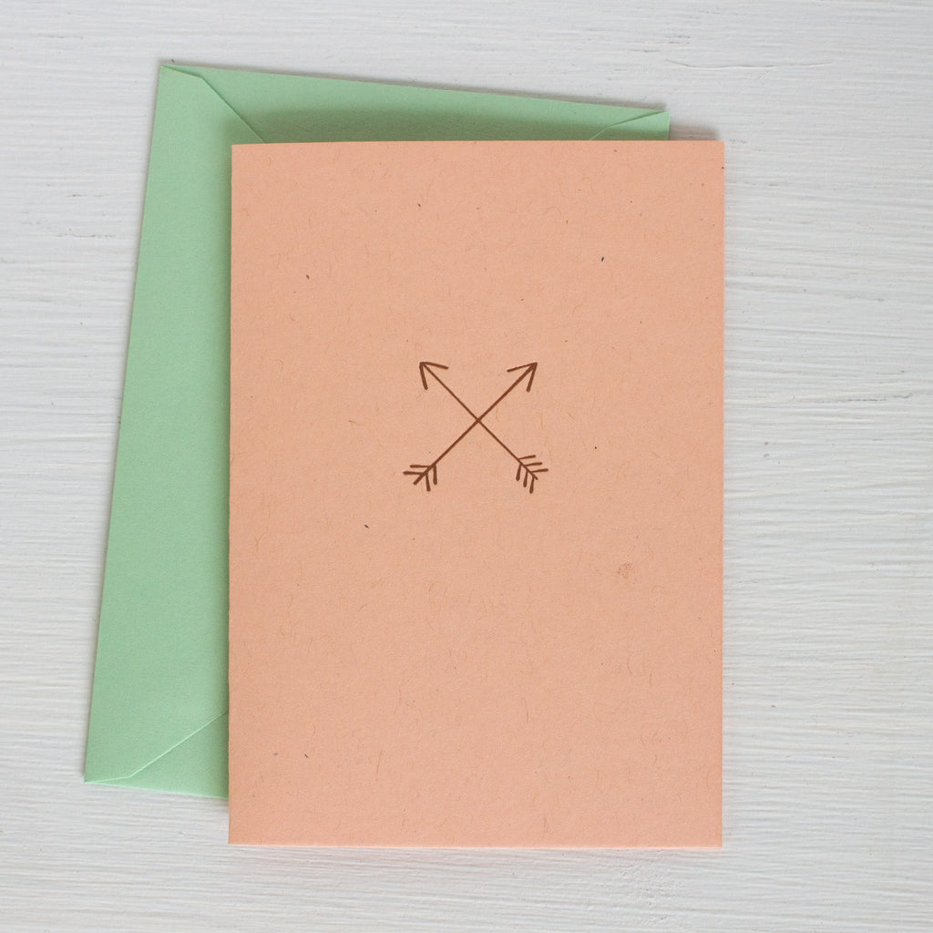 ARROWS folded notecards