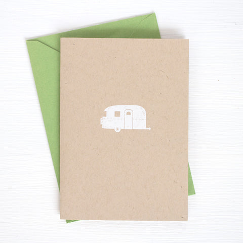 AIRSTREAM kraft folded notecards