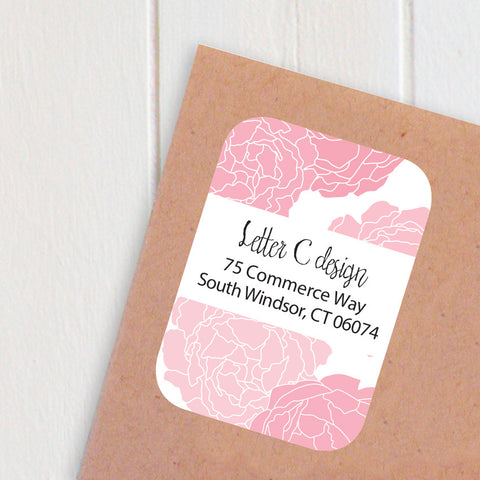 peony address labels