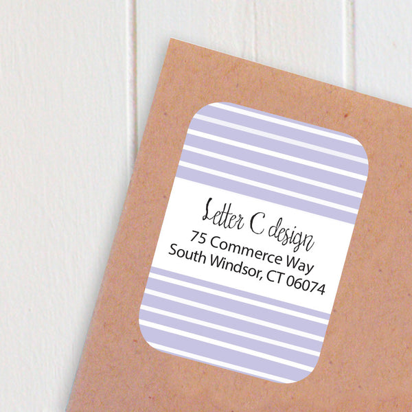 stripes address labels