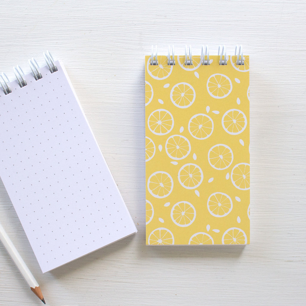 mini reporter notebook - LEMONS