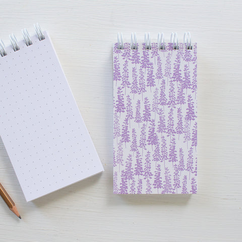 mini reporter notebook - LUPINE