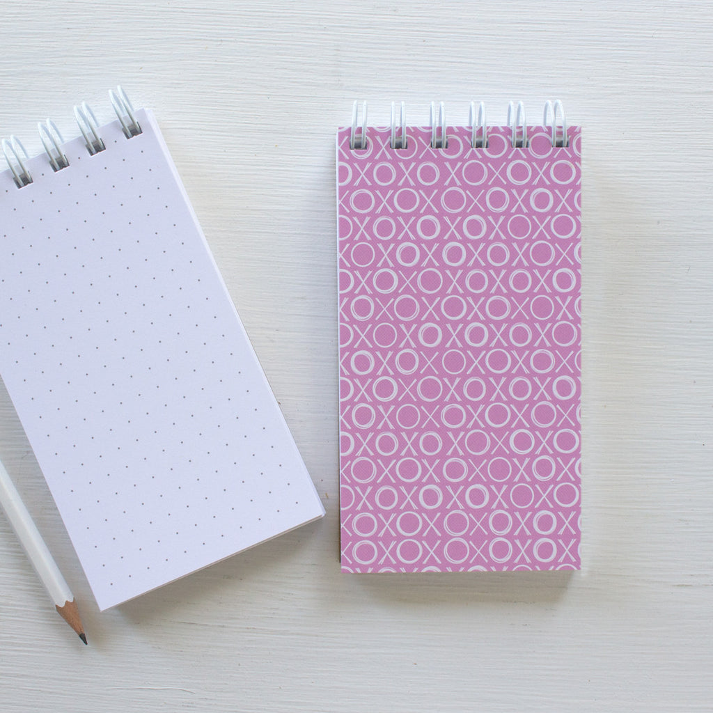 mini reporter notebook - XOXOX