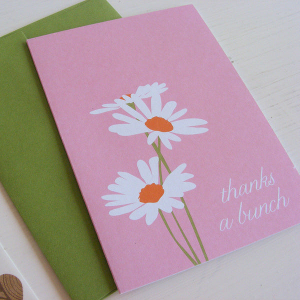 daisy note card set