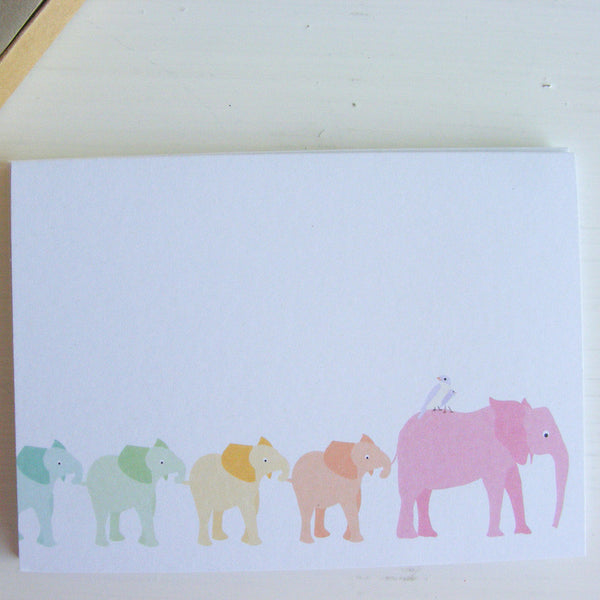 elephant parade note card set