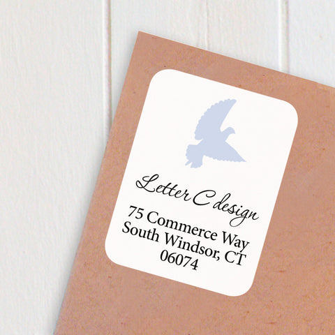 address labels dove