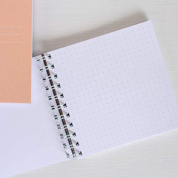 pressed square notebook