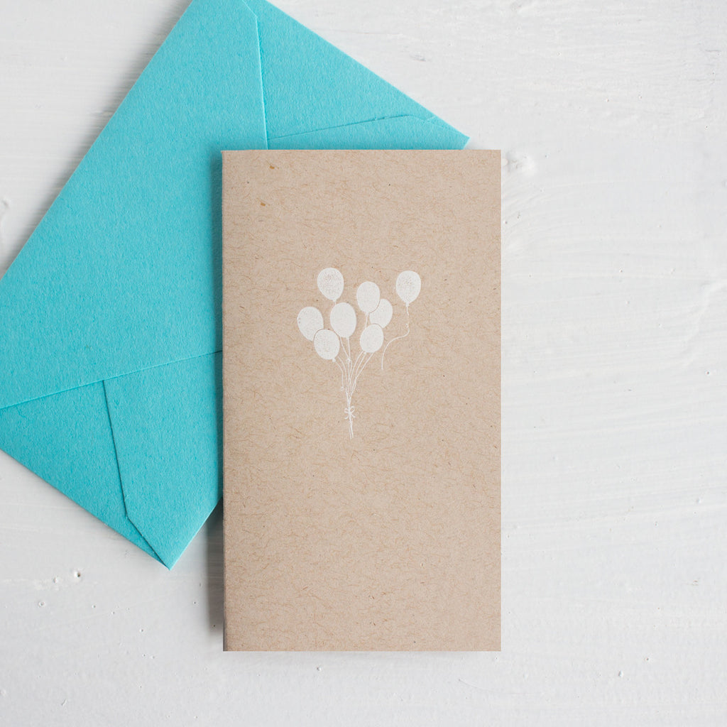 teeny tiny cards - balloons