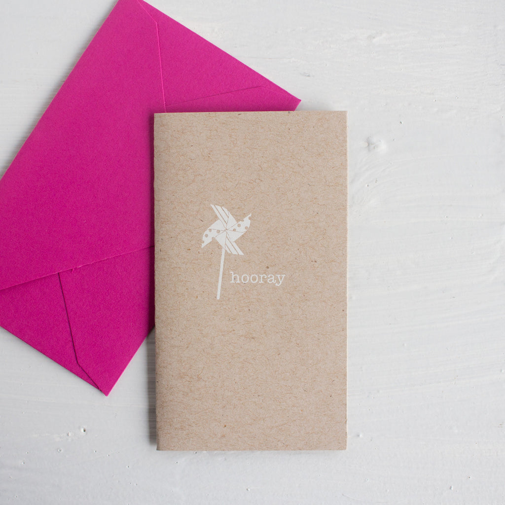 teeny tiny cards - pinwheel