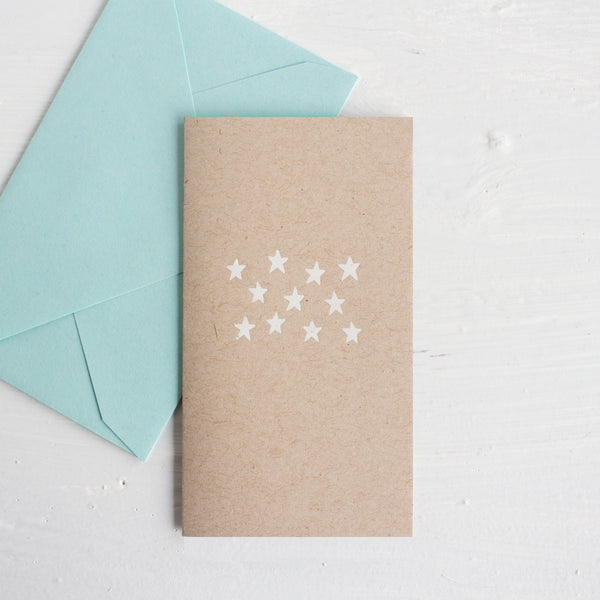 teeny tiny cards - stars