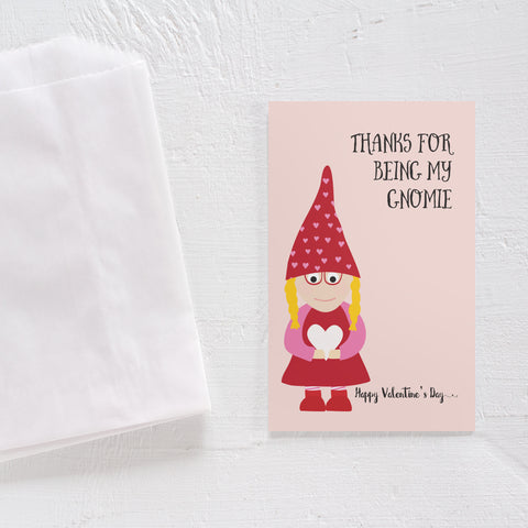 Valentine's Day card set - Gnome