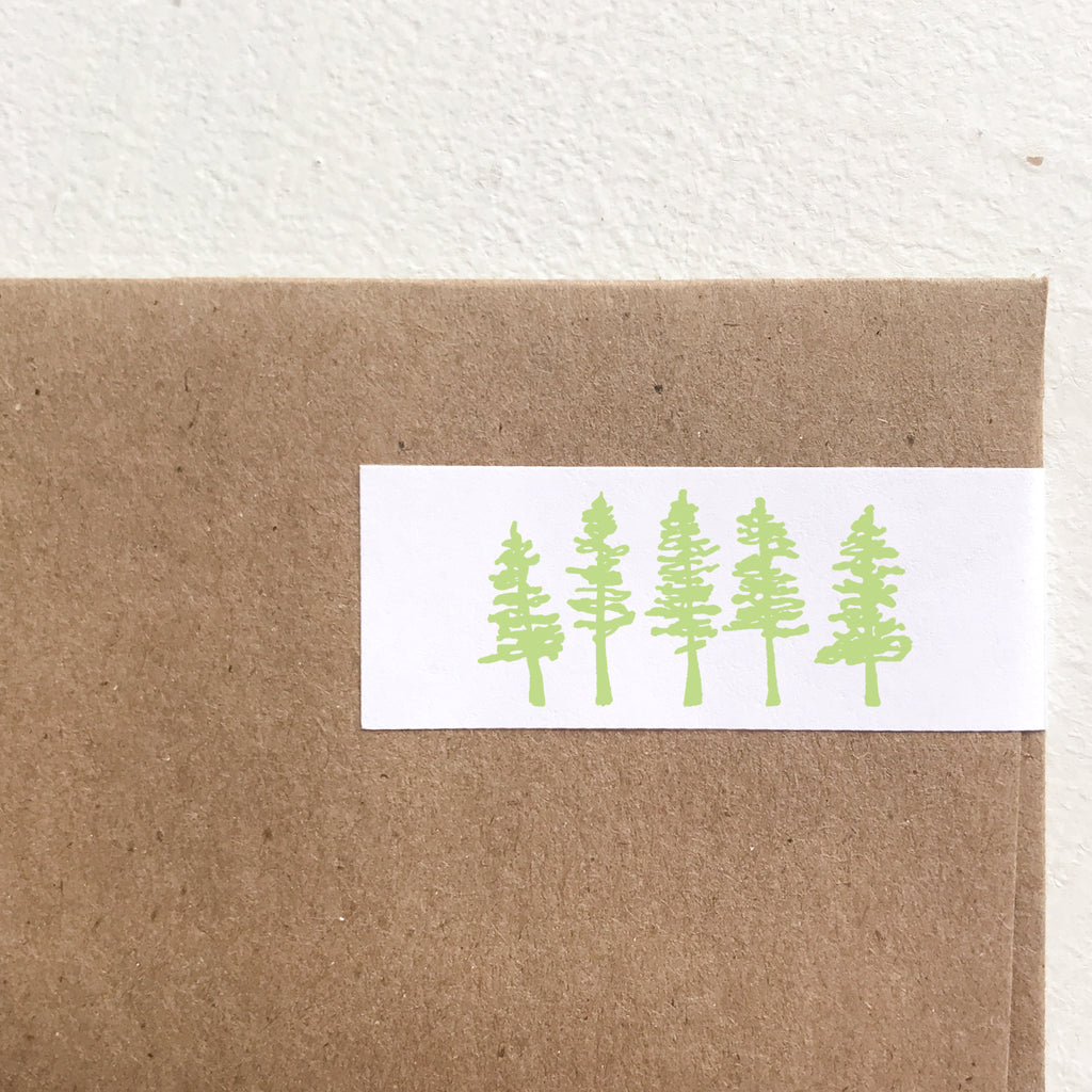 wrap address labels - trees