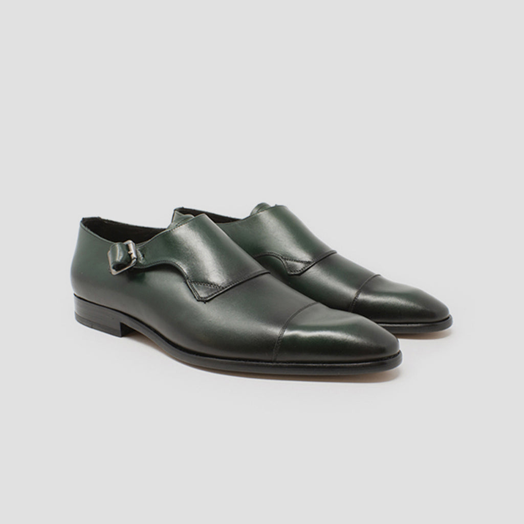 Single-Monk strap punt. recta | mod. 9502 (Azul, Verde)