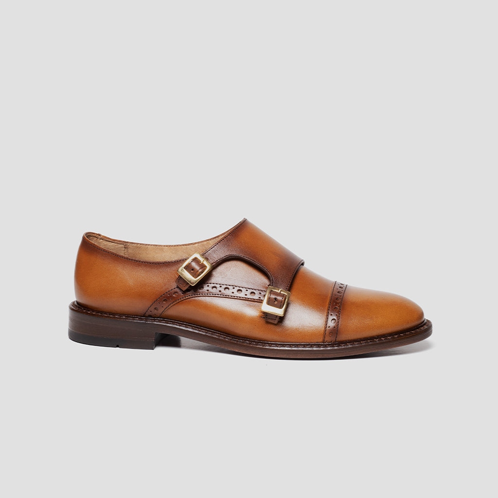Double-Monk strap Mujer | mod. 3022 Miel